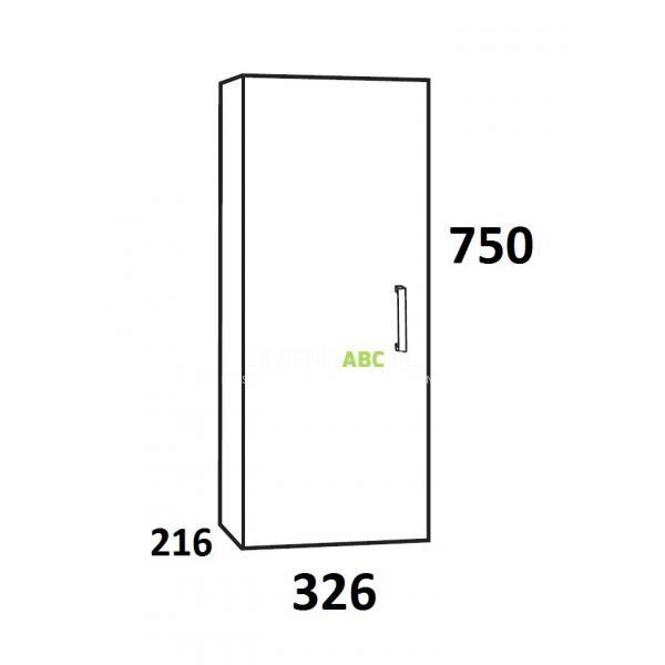 deftrans rosti szafka wisz�ca do �azienki 30 cm 001a