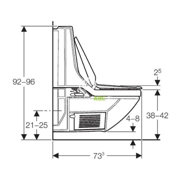 toaleta myj ca geberit aquaclean 8000plus. Black Bedroom Furniture Sets. Home Design Ideas